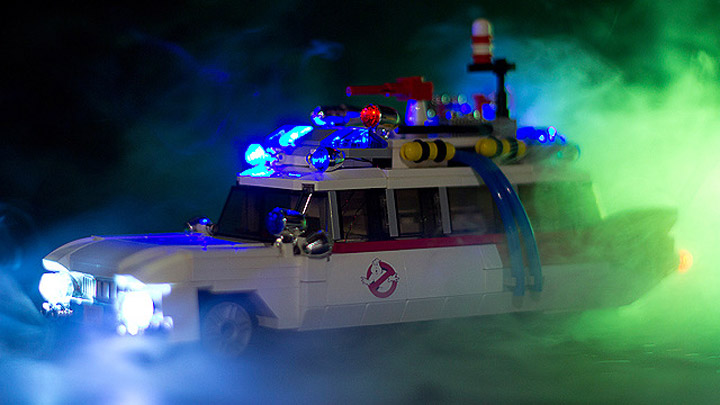 Ghostbusters Cuusoo Project: Ecto-1