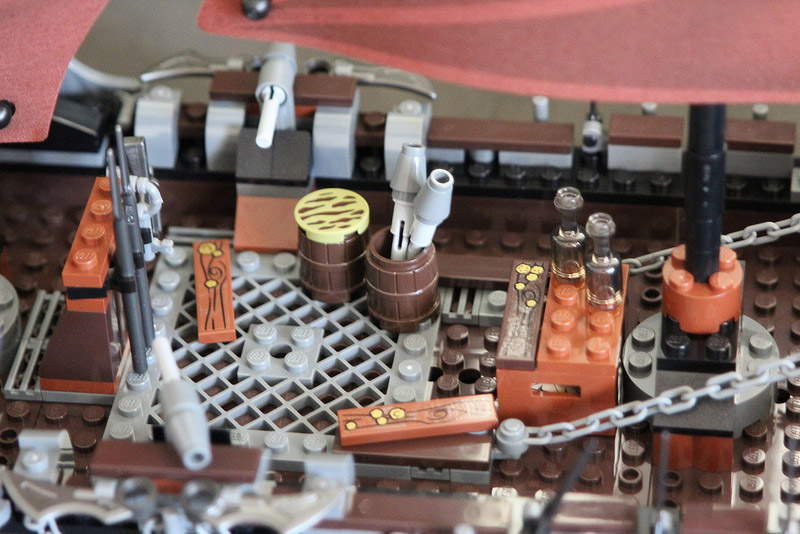 LegoFreak's Lego Lord of the Rings: Pirate Ship Ambush 79008 Review Detail
