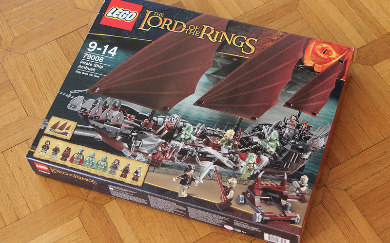 LegoFreaks's Lego Lord of the Rings: Pirate Ship Ambush 79008 Review