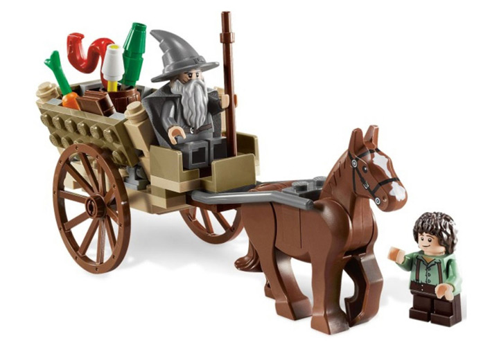 Lego Gandalf Arrives (9468)