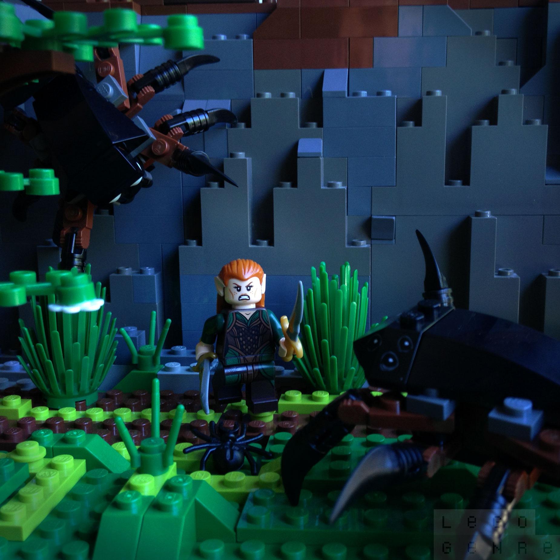 LegoGenre 00272: Escape From Mirkwood