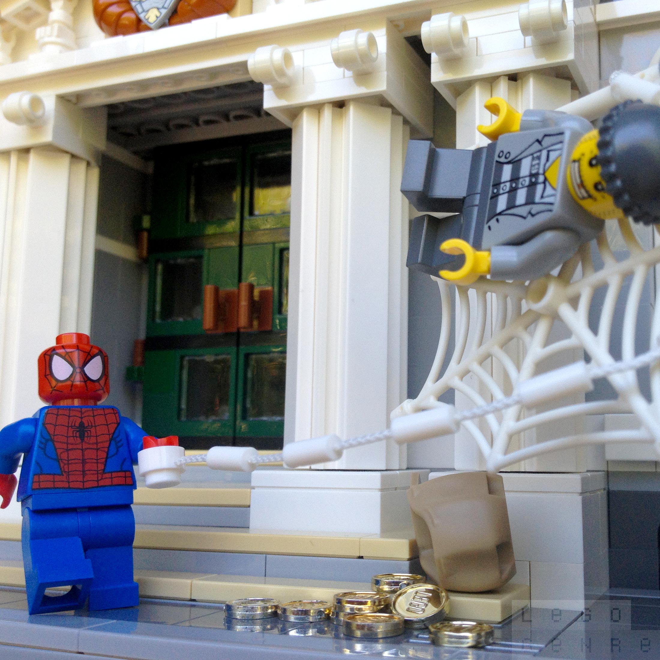 LegoGenre 00266: Friendly Neighborhood Spider-Man
