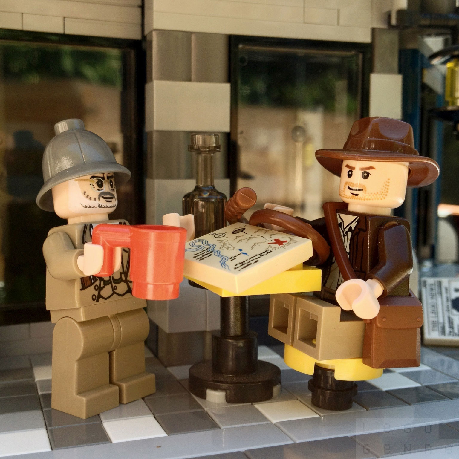 "LegoGenre 00270: ""That's his name. Henry Jones… Junior."""