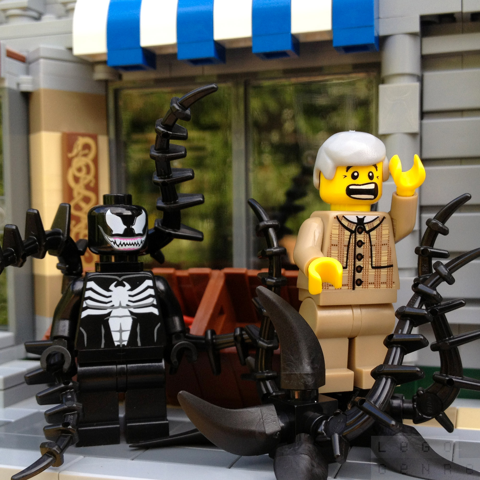 "LegoGenre: ""Venom-Man, Venom-Man, Friendly Symbiote Venom-Man…"""
