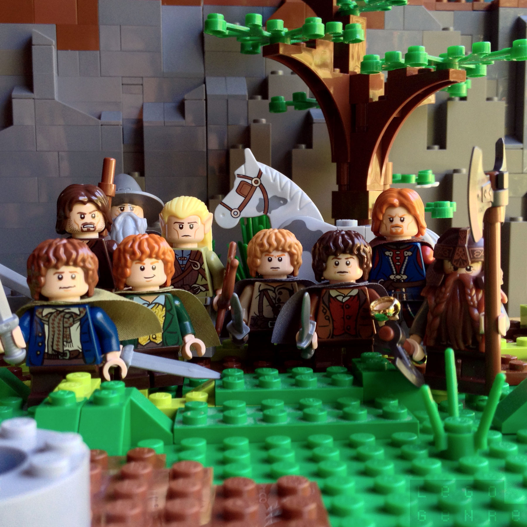 LegoGenre 00265: The Fellowship of the Ring