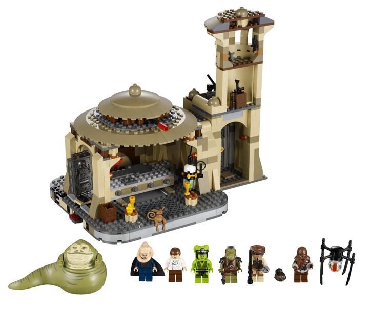 Lego Jabbas Palace (9516)