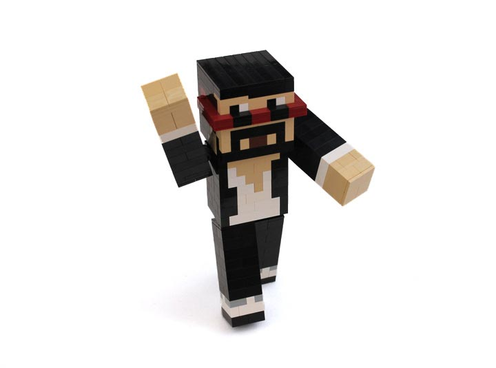 LegoJunkie's Minecraft Captainsparklez Minecraftian