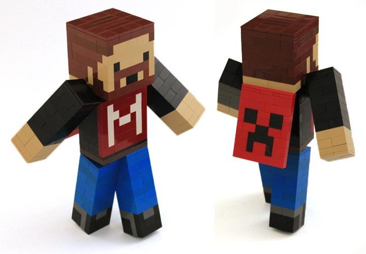 LegoJunkie's Minecraft Seananners