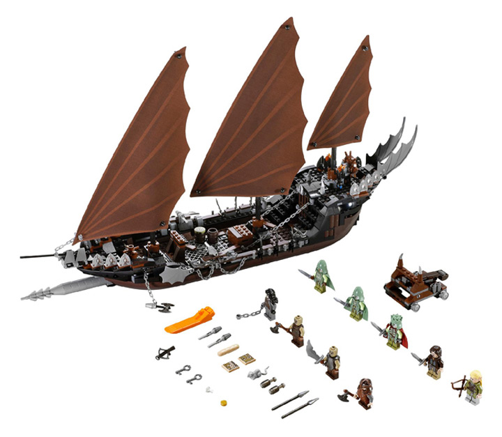 Lego the Lord of the Rings: Pirate Ship Ambush (79008)