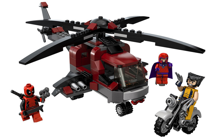 Lego Wolverine's Chopper Showdown (6866)