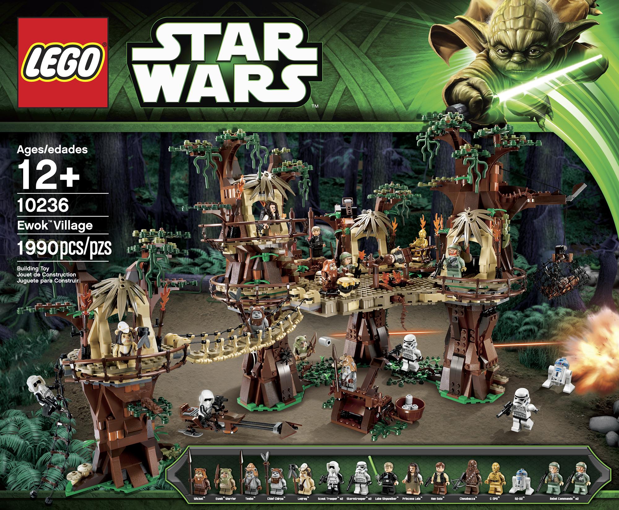 Lego Star Wars: Ewok Village 10236 box
