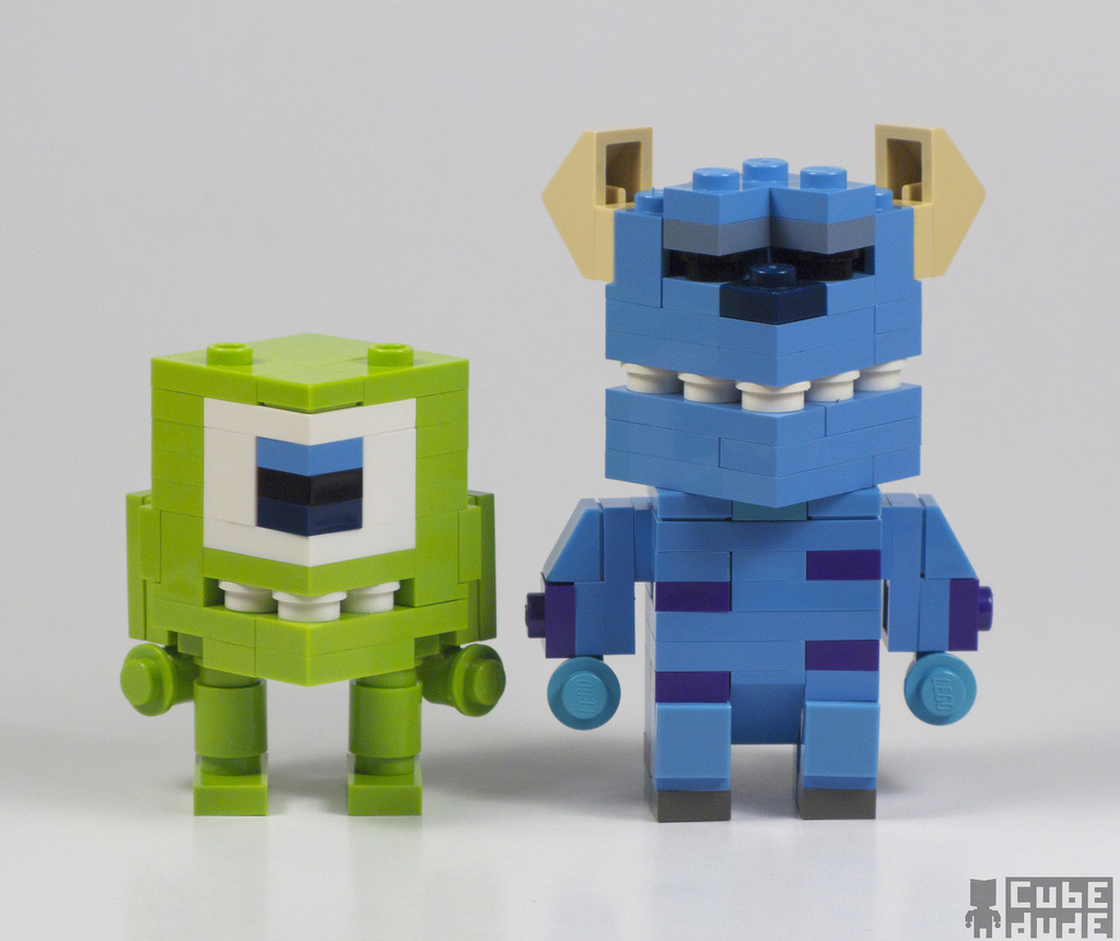 MacLane's CubeDude Mike & Sully, Monsters Inc