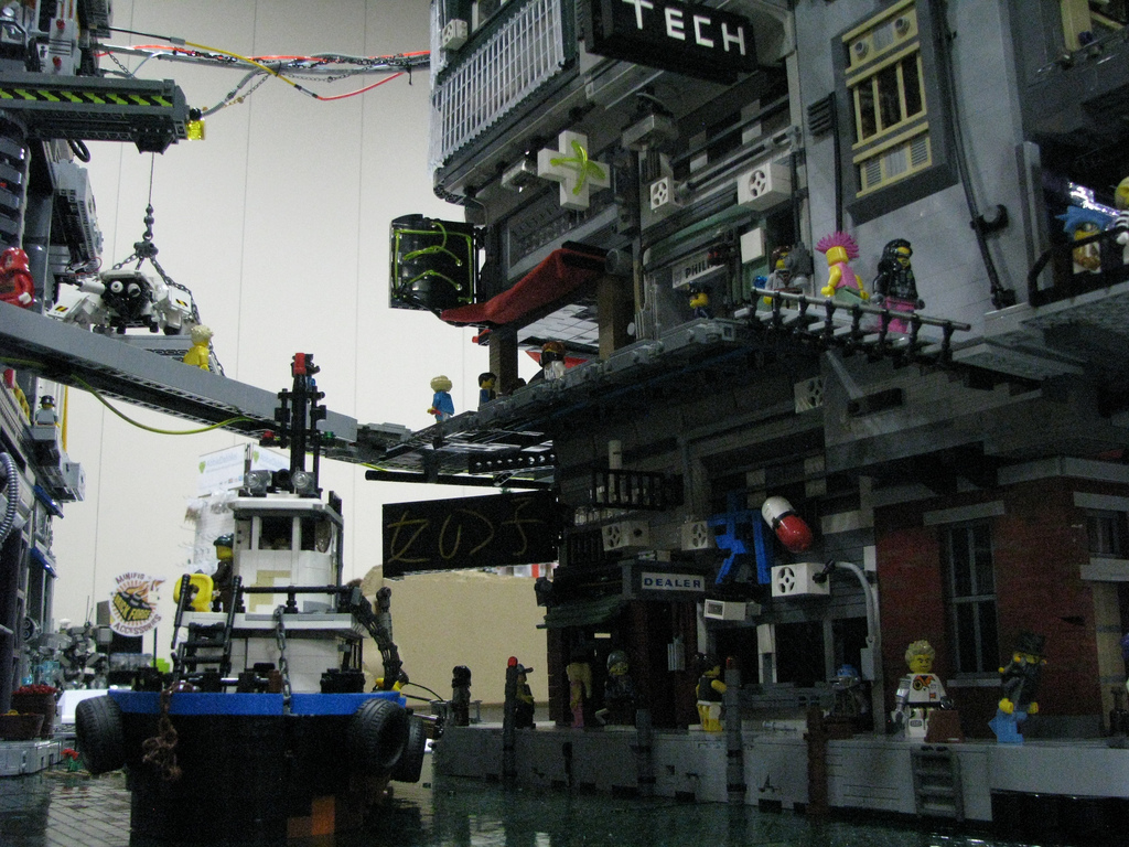 Nathaniel Brill's Cyberpocalypse A Lego Cyberpunk City 2