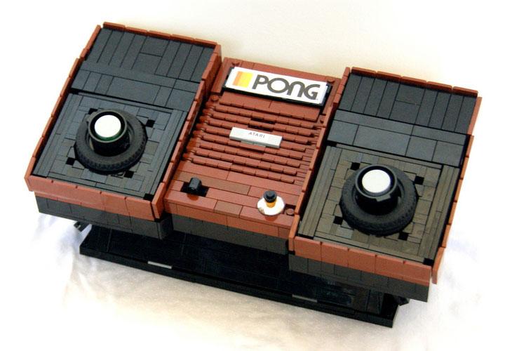 Quy's Lego Atari Pong