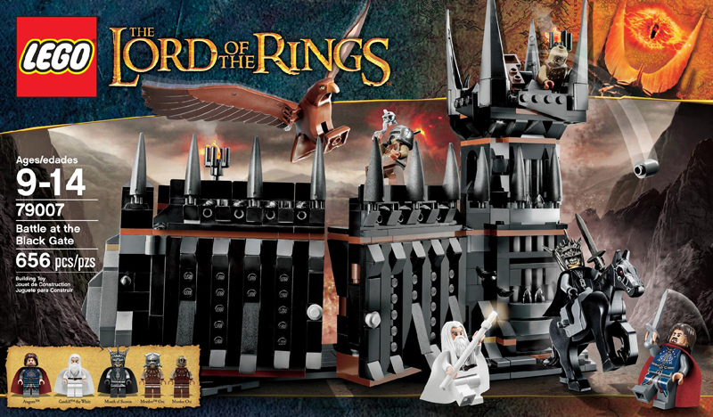 The Lord of the Rings Lego: Battle at the Black Gate (79007)