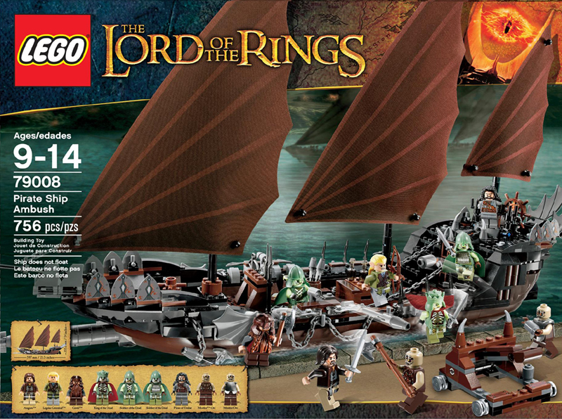 The Lord of the Rings Lego: Pirate Ship Ambush (79008)