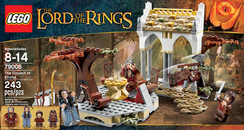 The Lord of the Rings Lego: The Council of Elrond (79006)