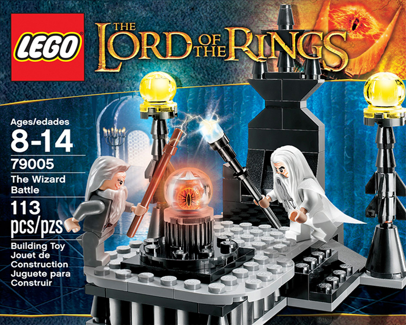 The Lord of the Rings Lego: The Wizard Battle (79005)