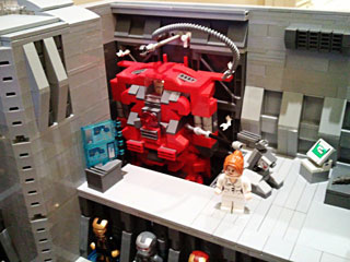 becauseBATMAN's Stark Industries Armory, Iron Man Hall of Armor Hulkbuster