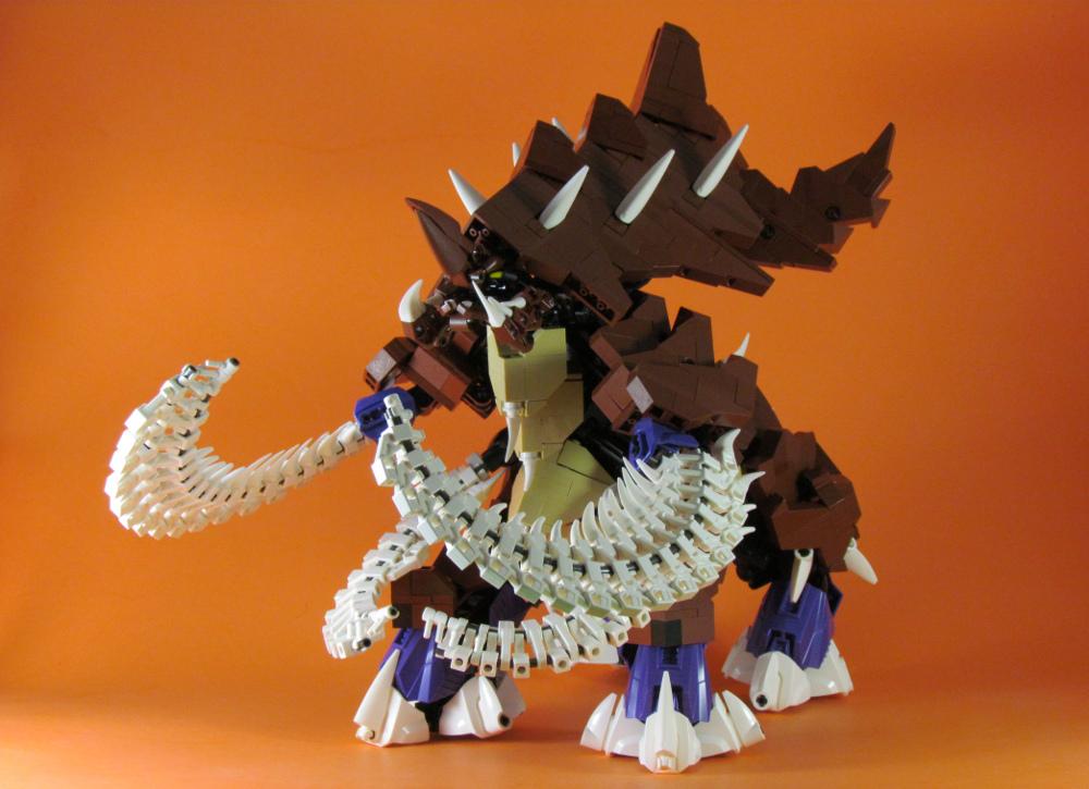 retinence's Lego StarCraft Ultralisk