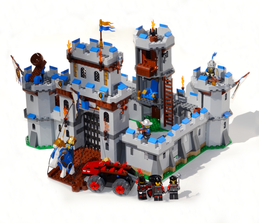 oo7's Lego Castle, Kings Castle 70404 Review
