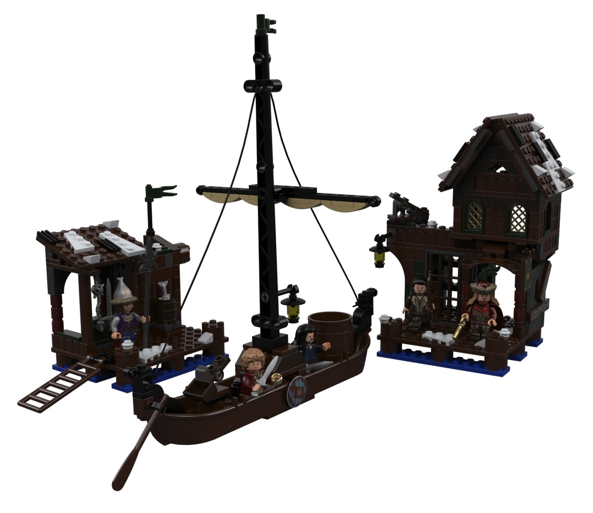 BrothersBrick, Lego Lake Town, The Hobbit