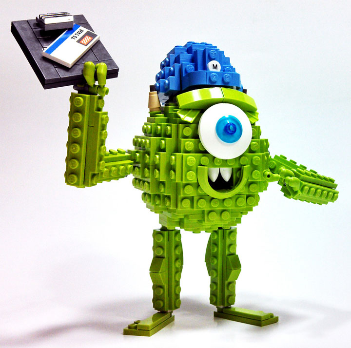 Dave Shaddix's Mike Wazowski, Lego Monsters Inc