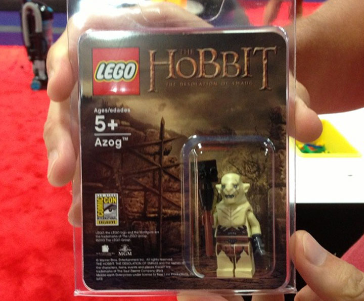 SDCC Exclusive Azog Minifigure from FBTB