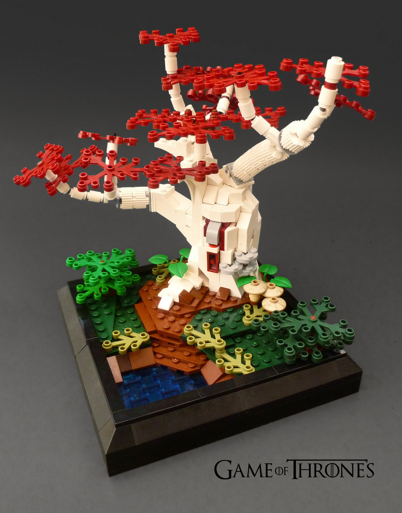 Flailx's Lego Game Of Thrones Godswood Wierwood Tree
