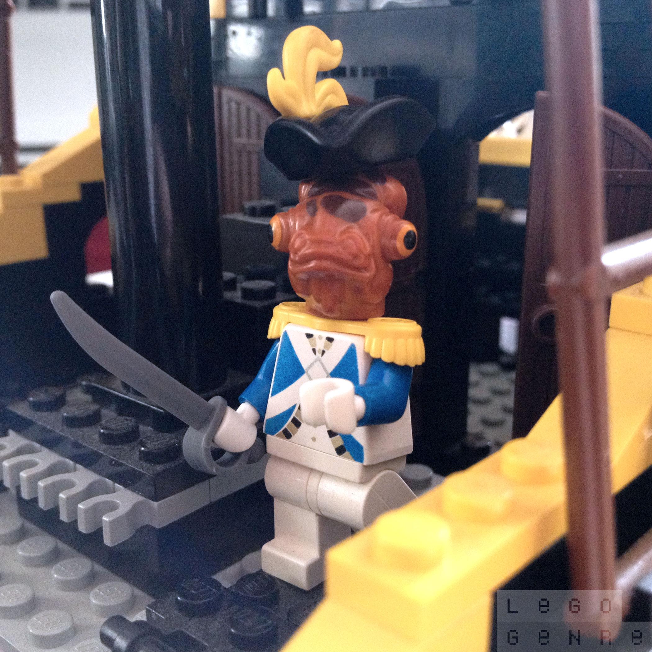 LegoGenre 00287: Admiral Ackbar