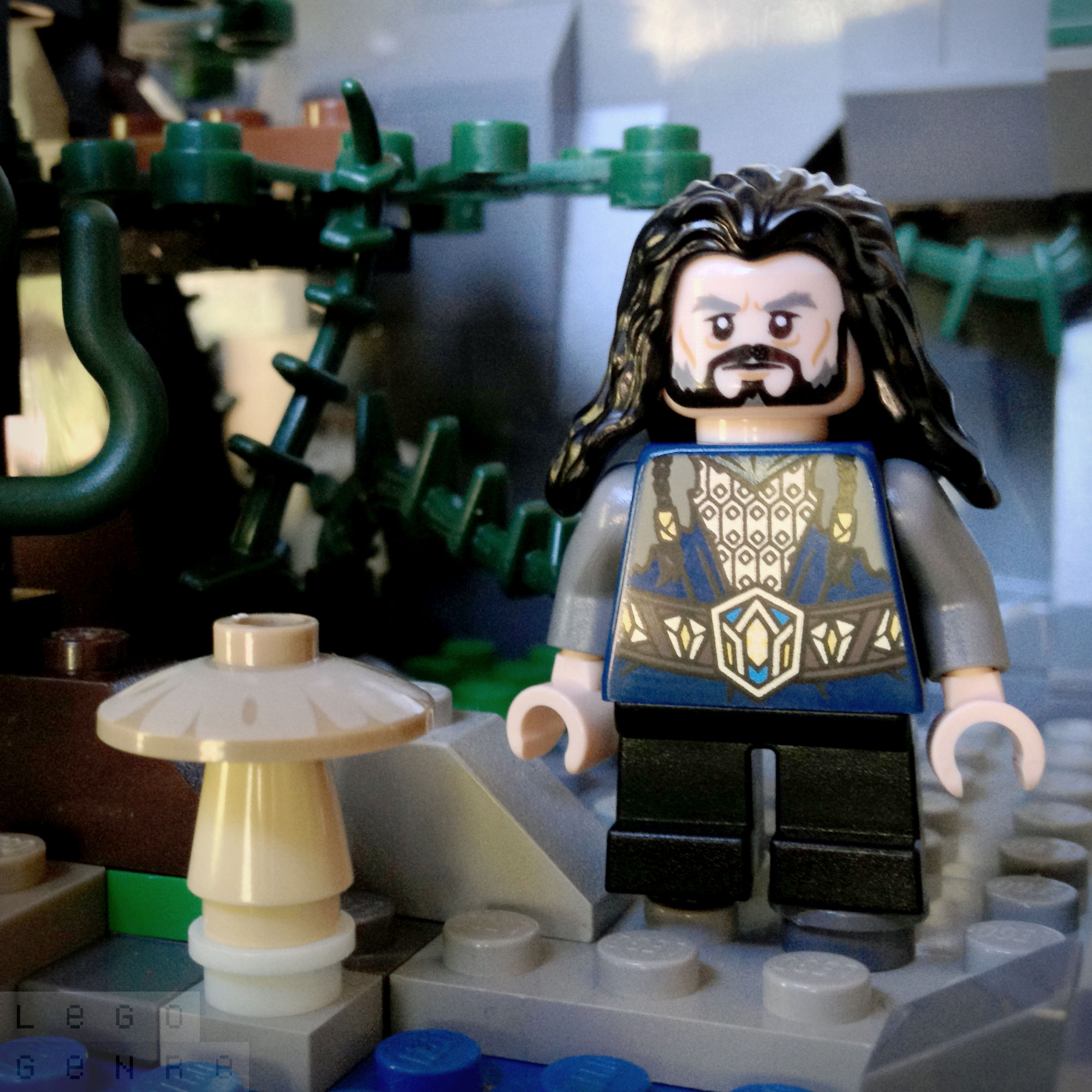 LegoGenre 00281: Thorin II Oakenshield, King Under The Mountain, & King Of Durin's Folk