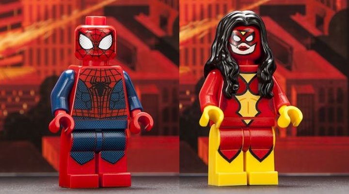 Comic Con Exclusive Lego Minifigures 2013, Spider-Man, Spider-Woman