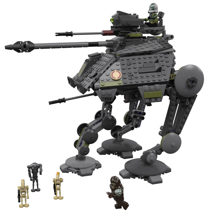 Star Wars Lego AT-AP