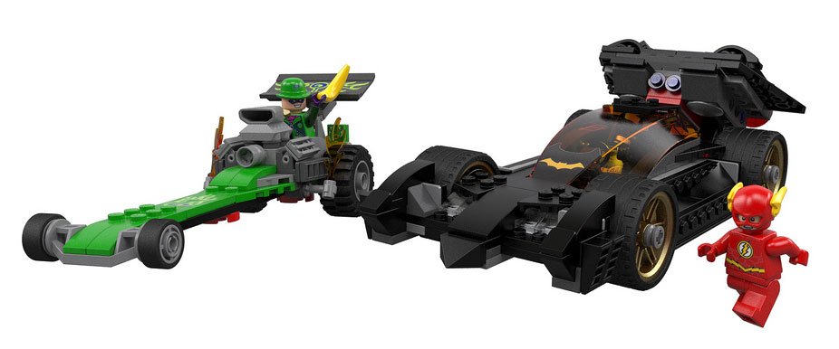 Lego Super Heroes: Batman, Riddler Chase 76012