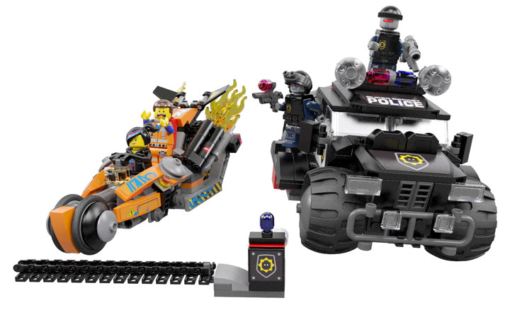 The Lego Movie: Movie-Inspired Building Sets