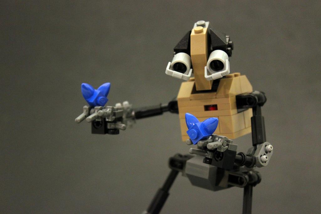Legohaulic's EMOTE Lego Robots: Butterflies