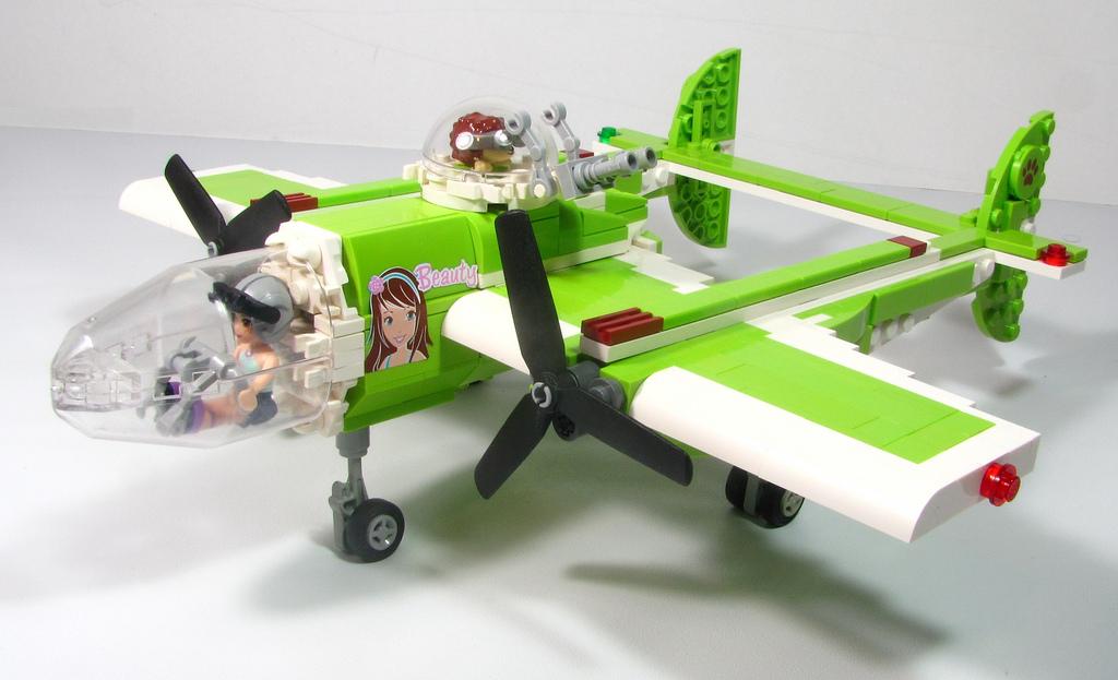 Shuppiluliumas's Lego Friends MOC: Mia's Beauty 2
