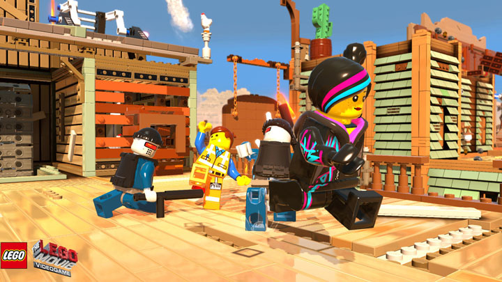 The Lego Movie Video Game Screenshots