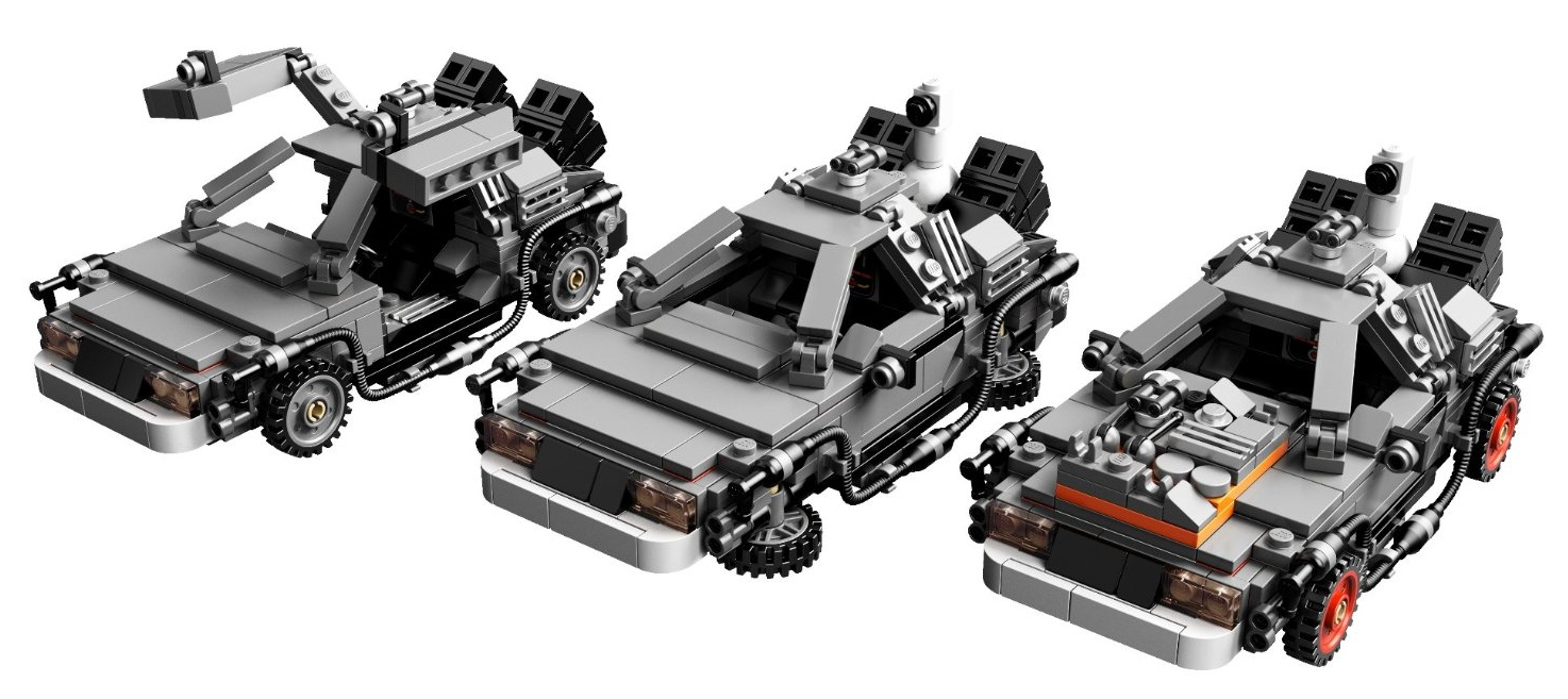 DeLorean Back To The Future Lego CUUSOO Details