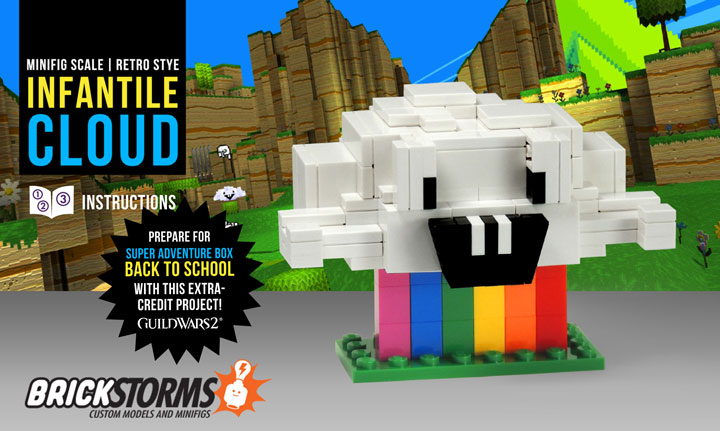 Brickstorms's Lego Guild Wars 2 Infantile Cloud