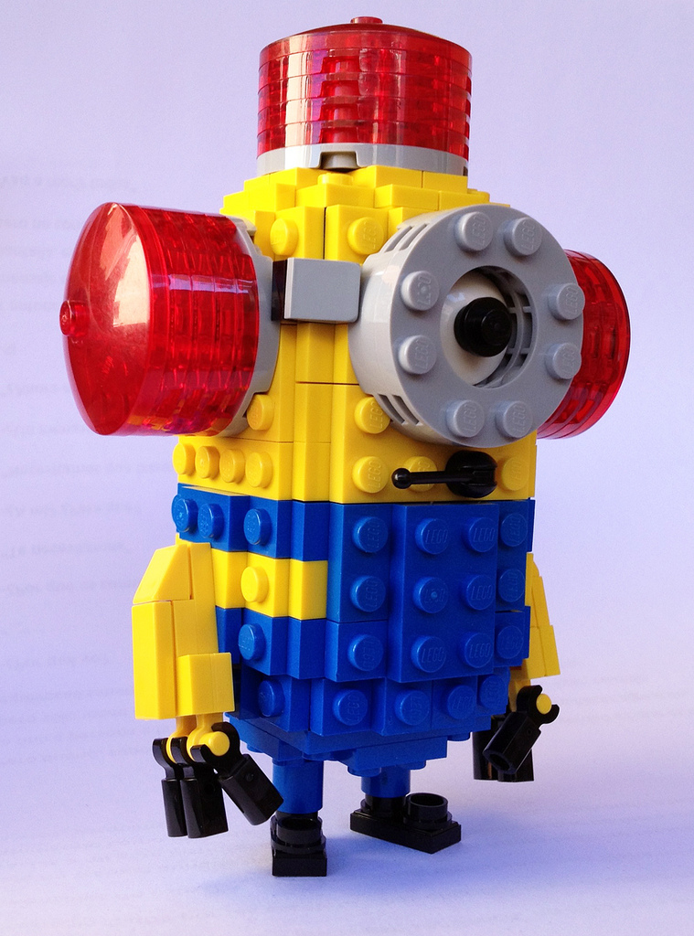 CarMP's Lego Despicable Me Minion Bee Do