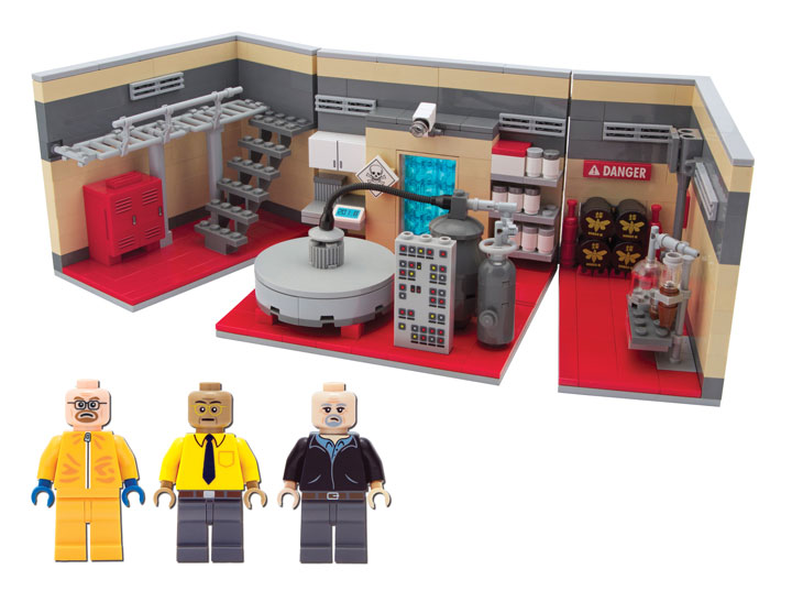 CitizenBrick's Lego Breaking Bad Superlab Playset