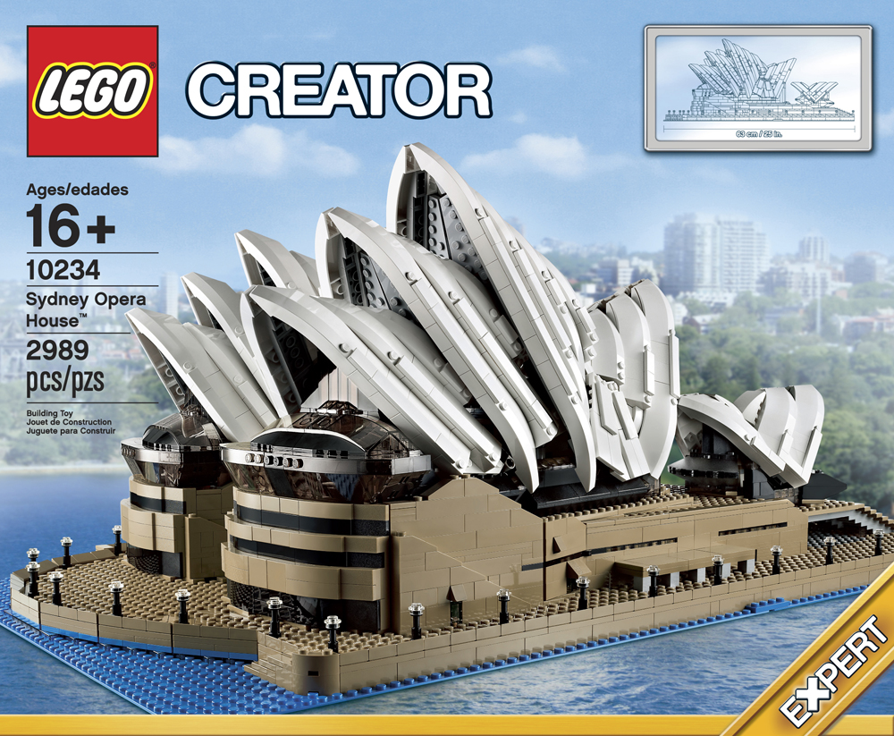 Lego Creator Sydney Opera House 10234 Review By Drudoo