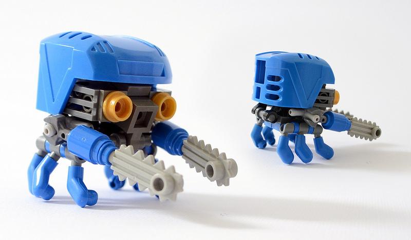 FLAVIO'S Tiny Lego Robots, WIFFY: Rotary Saw