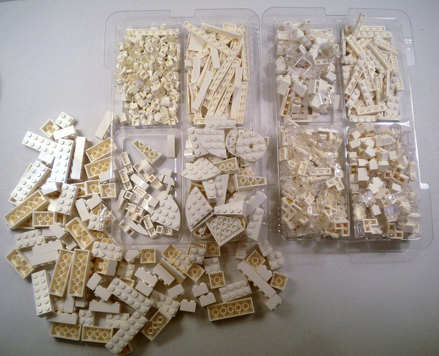 Lego Architecture Studio (21050) Pieces by JimButcher