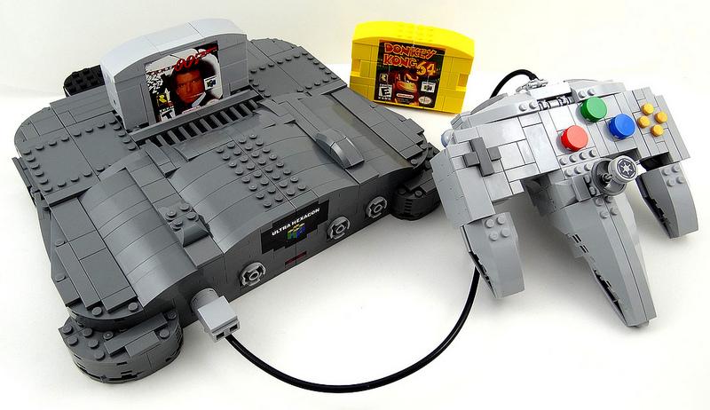 Baron Julius von Brunk Lego, Nintendo 64, Transformers. Mashup.
