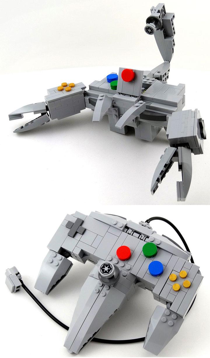 Baron Julius von Brunk Lego, Nintendo 64, Controller Transformed