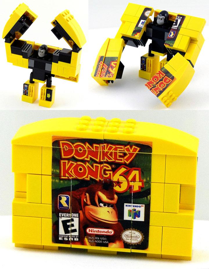 Baron Julius von Brunk Lego, Nintendo 64, Donkey Kong 64 Robot