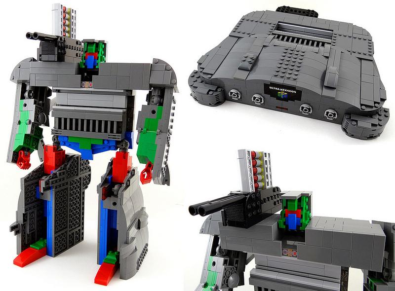 Baron Julius von Brunk Lego, Nintendo 64 Robot