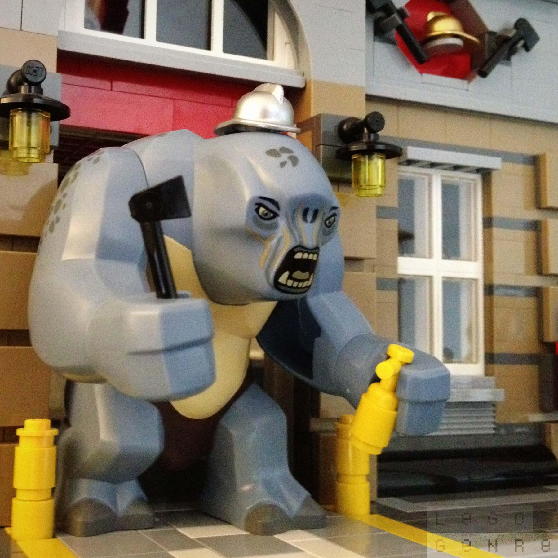 LegoGenre 00293: Firefighter Bert